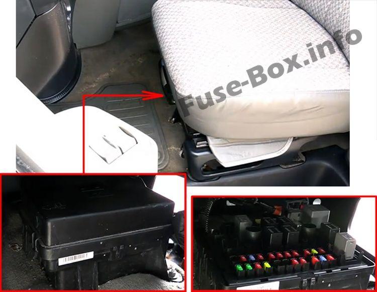 Chevrolet Express 2003 2019 Fuse Box Location Fuse Box Chevrolet Fuses