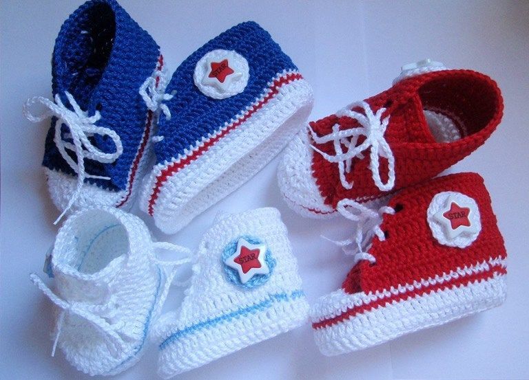 Tutorial and Pattern of how to make a crochet baby shoe | Tutorials ...