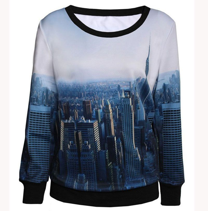 New York City 2017 Winter Women Hoodies Sweatshirts Woman ...