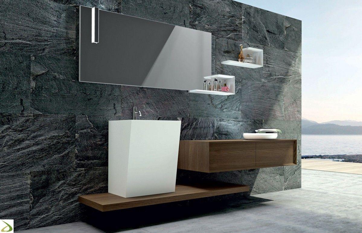 Armadietto Bagno ~ Puntotre arredo bagno design in legno venus g