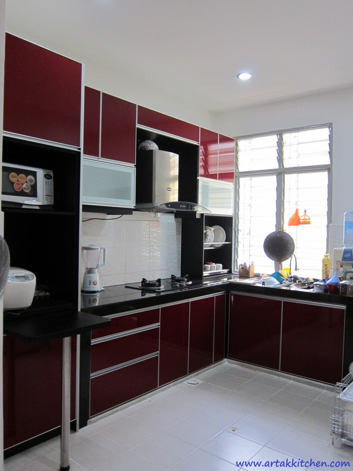 Color Kitchen Image Result For Maroon Color Kitchen Cabinets Kitchen