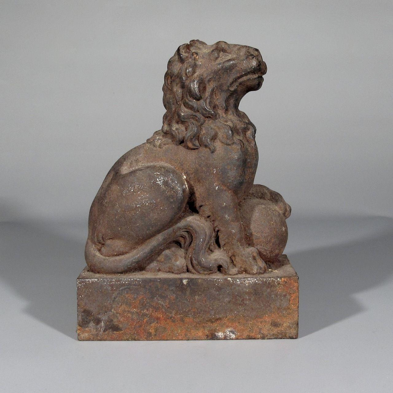 Antique french Cast Iron Lion | eBayhttp://www.ebay.com/itm/Antique-French-Cast-Iron-Lion-/281593437311?pt=LH_DefaultDomain_0&hash=item419046dc7f