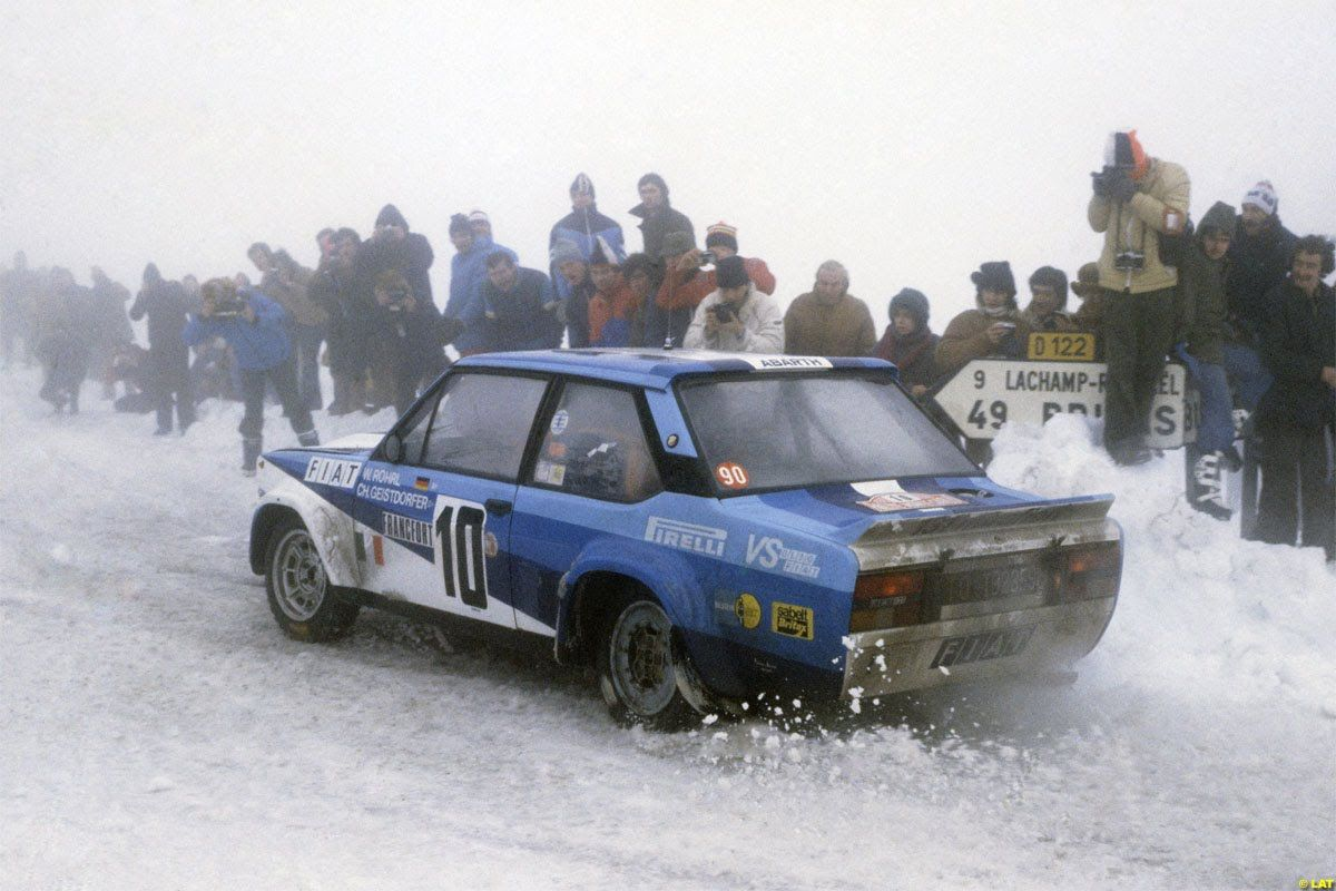 Fiat 131 Abarth 1980 Rallye Monte Carlo With Images Fiat Fiat