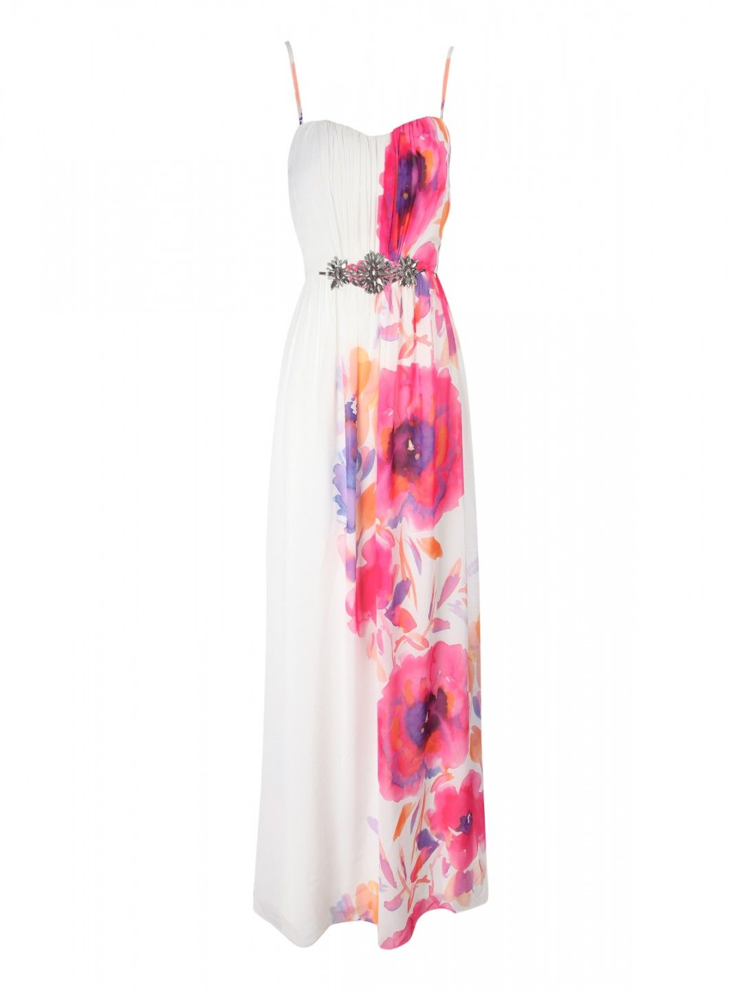 Printed Poppy Embelleshed Maxi | Dresses | Shop by Item | Clothing ...