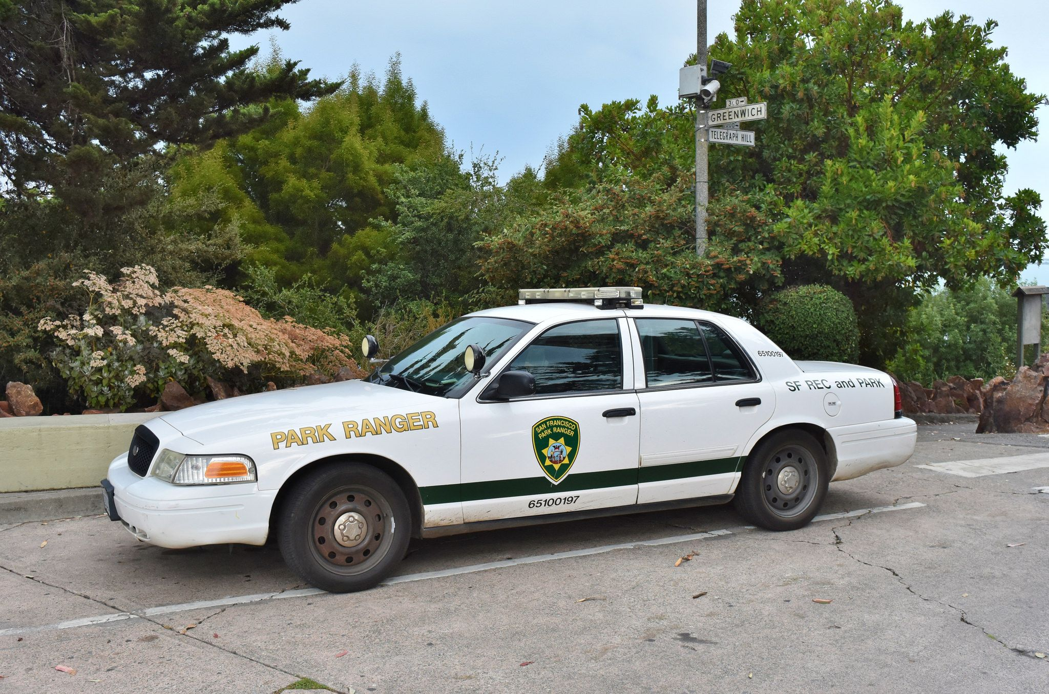 Park Ranger Coit Tower San Francisco September 11 2017 Police Cars Ranger Car Victoria Police