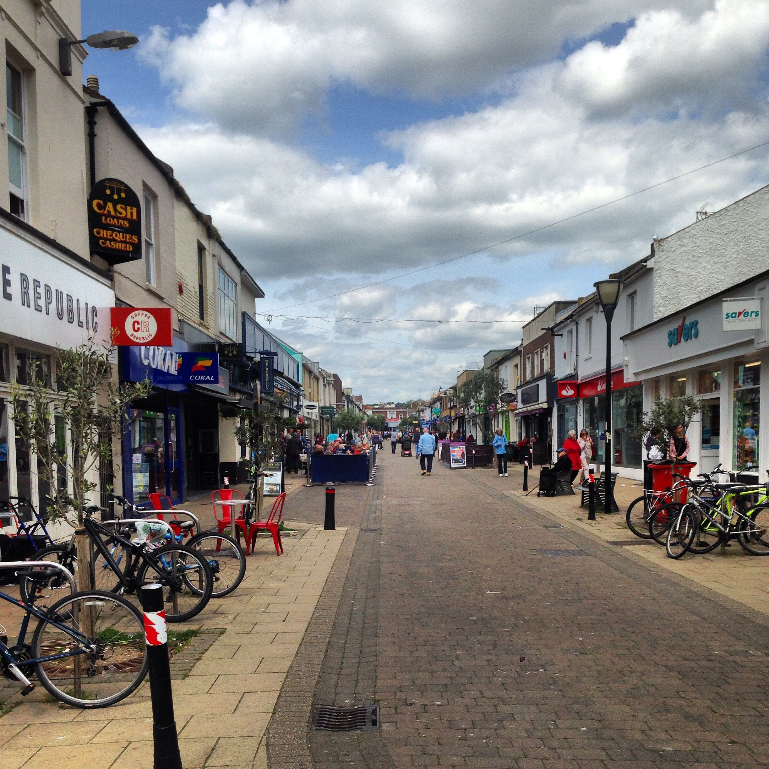 George Street, Hove - our local shopping area