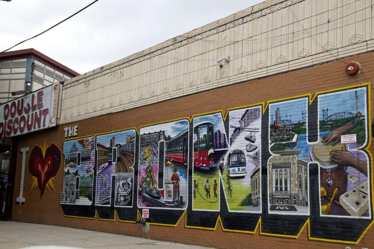 I love the bronx graffiti one of many murals throughout the borough alyandthecity com
