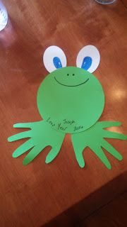 Leap Year hand print craft for the kids and babies