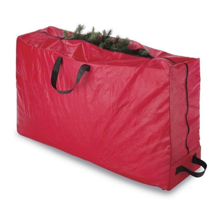 Christmas Tree Storage Bag With Wheels Prepossessing Rolling Storage Christmas Tree Bag Wheeled Portable Durable 9 Ft Decorating Inspiration
