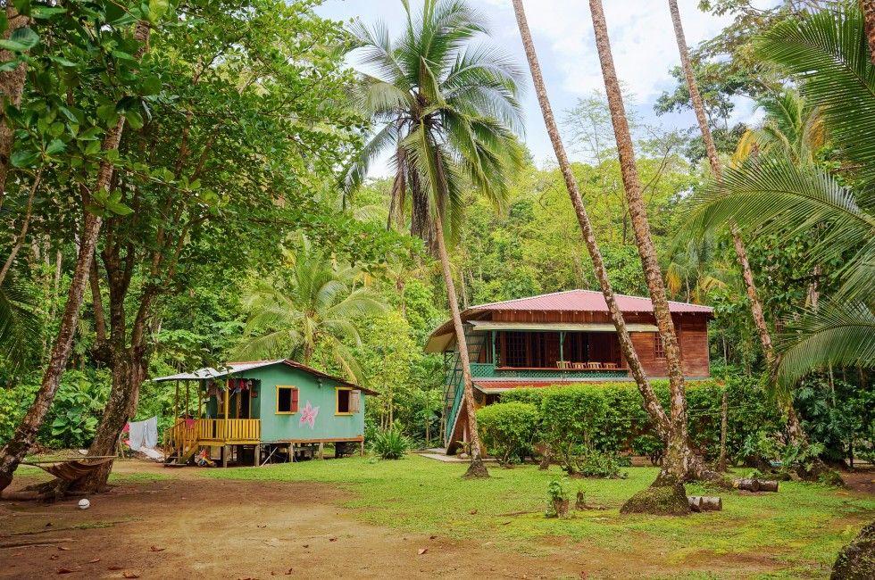 House Rainforest Gandoca Manzanillo National Wildlife Refuge Limon The Southern Caribbean Coast Costa Costa Rica Holiday Caribbean Homes Costa Rica Beaches