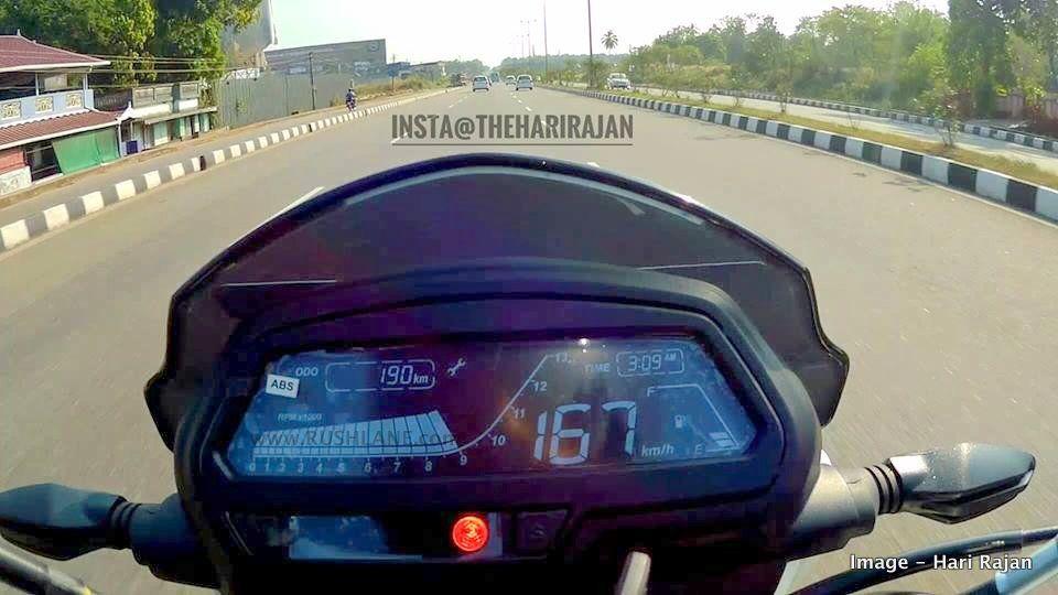 Watch Bajaj Dominar 400 top speed record by YouTuber
