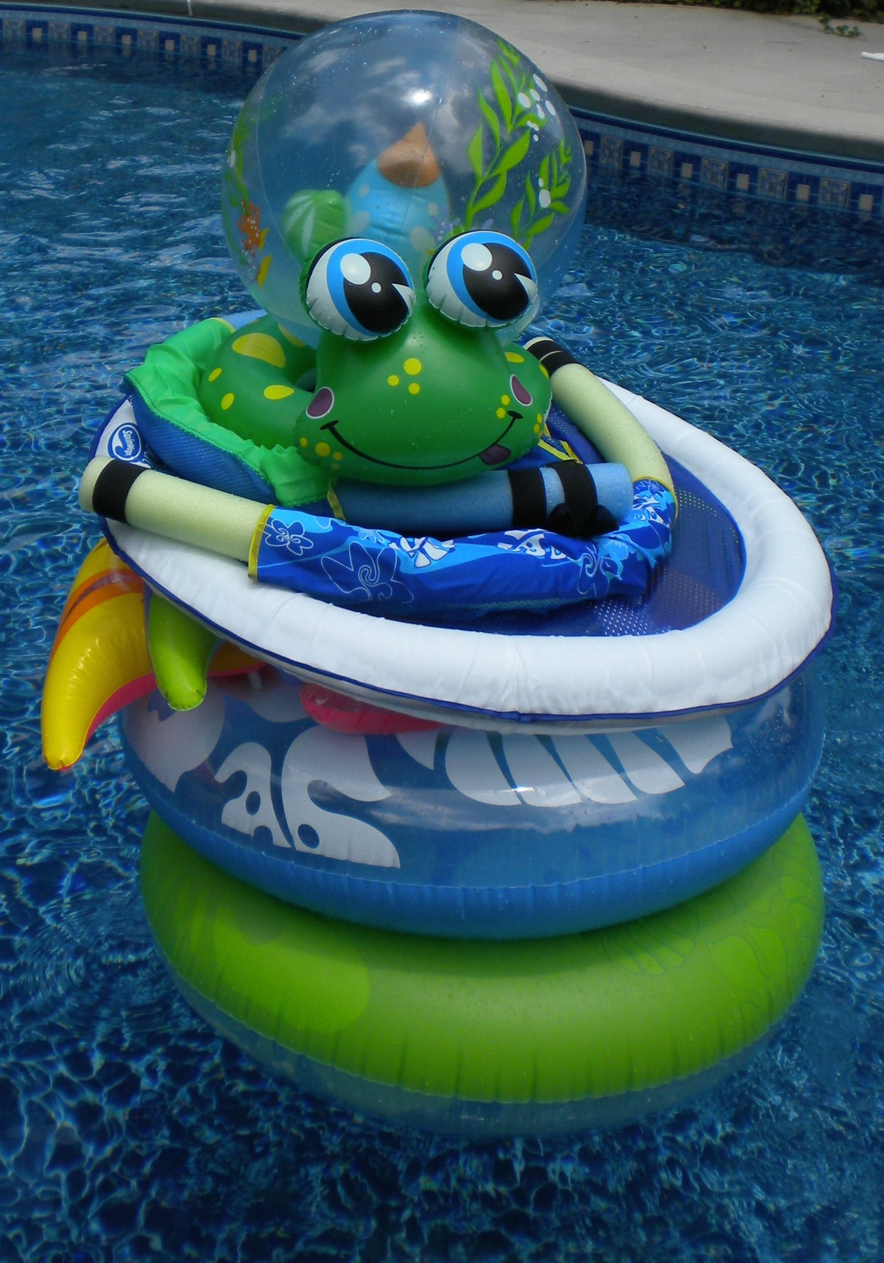 Inflatable pool toys and floats offer something for everyone
