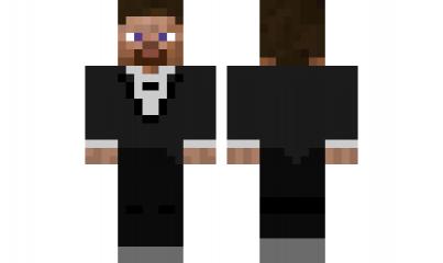 minecraft skin Tuxedo-Steve | Collin | Minecraft skins