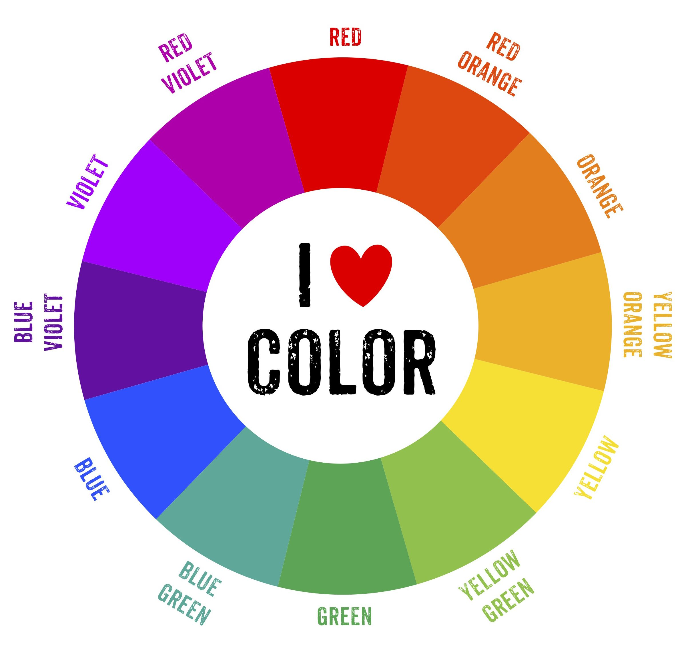 Online color chart - Color Wheel Chart For Kids Top Pictures Gallery Online