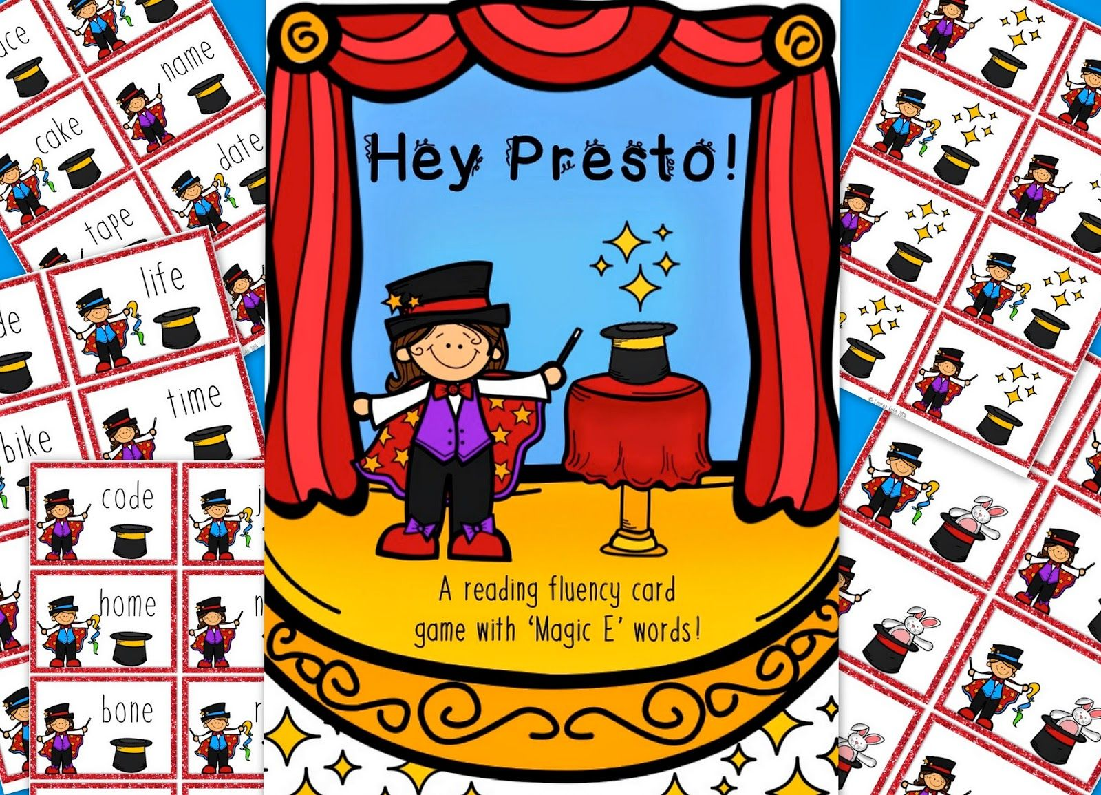 Hey Presto! Reading magic. Love, Laughter and Learning in Prep!