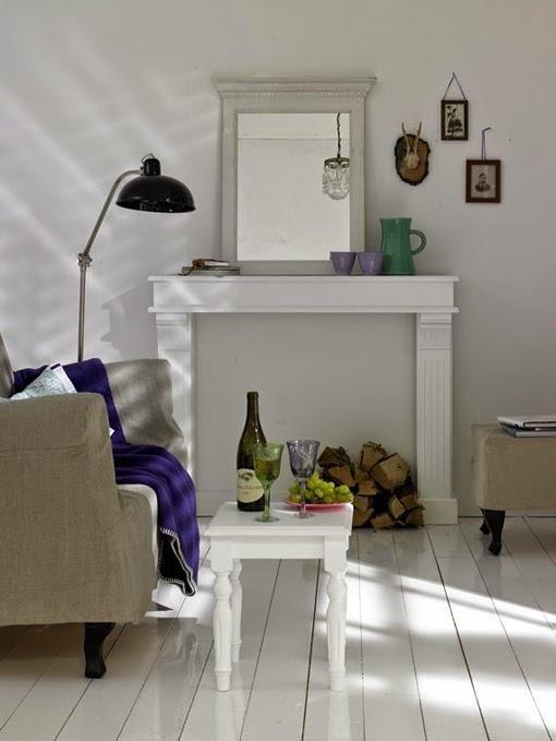 Chimeneas decorativas + DIY