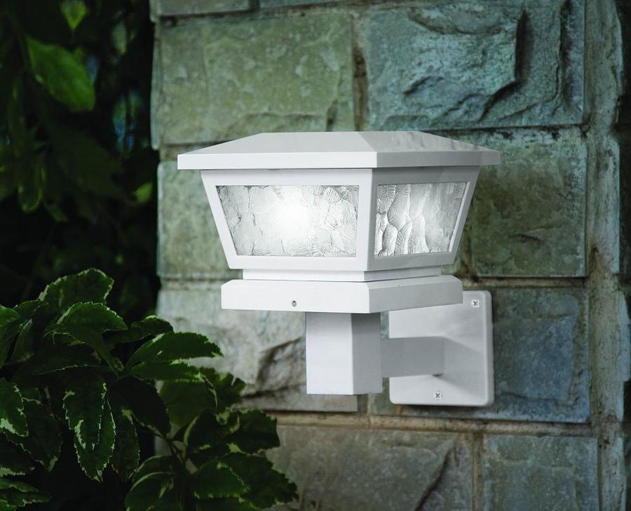 Fairmont solar post cap by classy caps outdoor flower