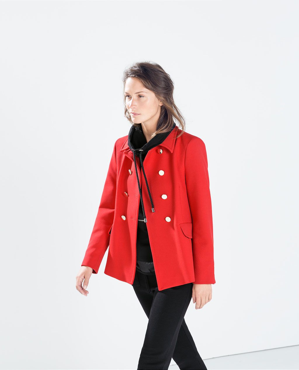 4a4a6dab314 ZARA - NEW THIS WEEK - DOUBLE BREASTED COAT