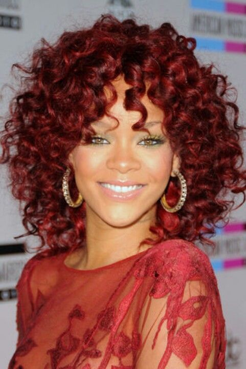 15 Beautiful Ways To Style Curly Hair Red And