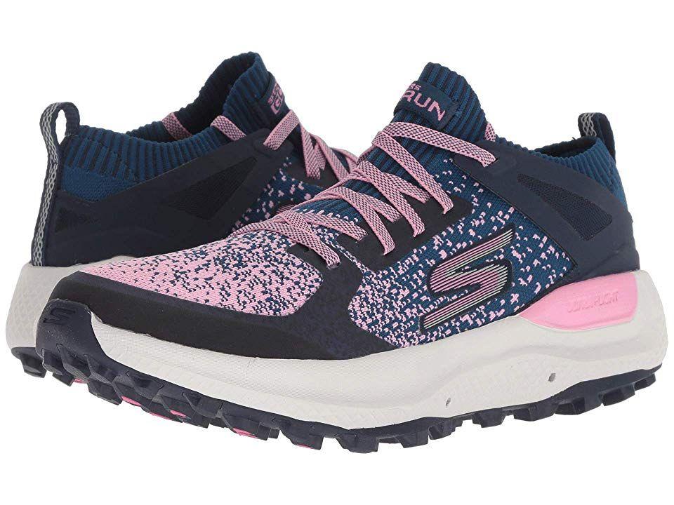 gran descuento para incomparable retro SKECHERS Go Run Max Trail 5 Ultra (Navy/Pink) Women's Running ...