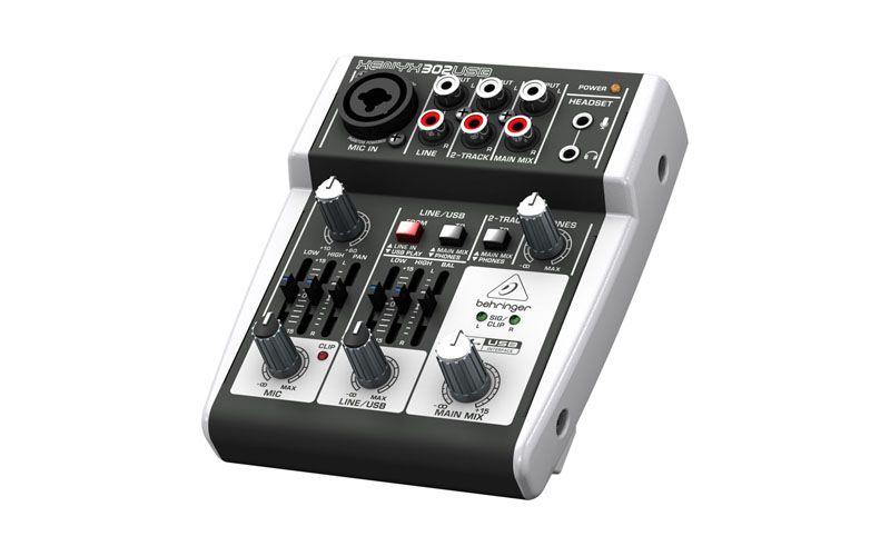 Nice 5 Input Mixer With Mic Preamp Powered Via Usb Audio Professional Audio Usb