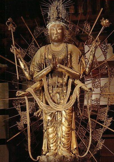不空羂索観音 | Buddha & Temple...