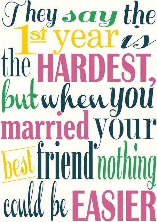 Wedding Anniversary Quotes For Husbandone Year