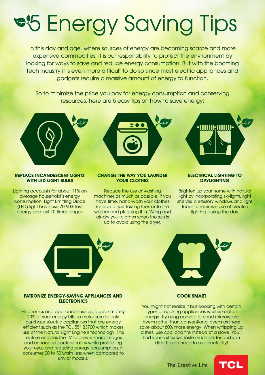 5 Energy Saving Tips Saving Energy Save Energy Energy Saving
