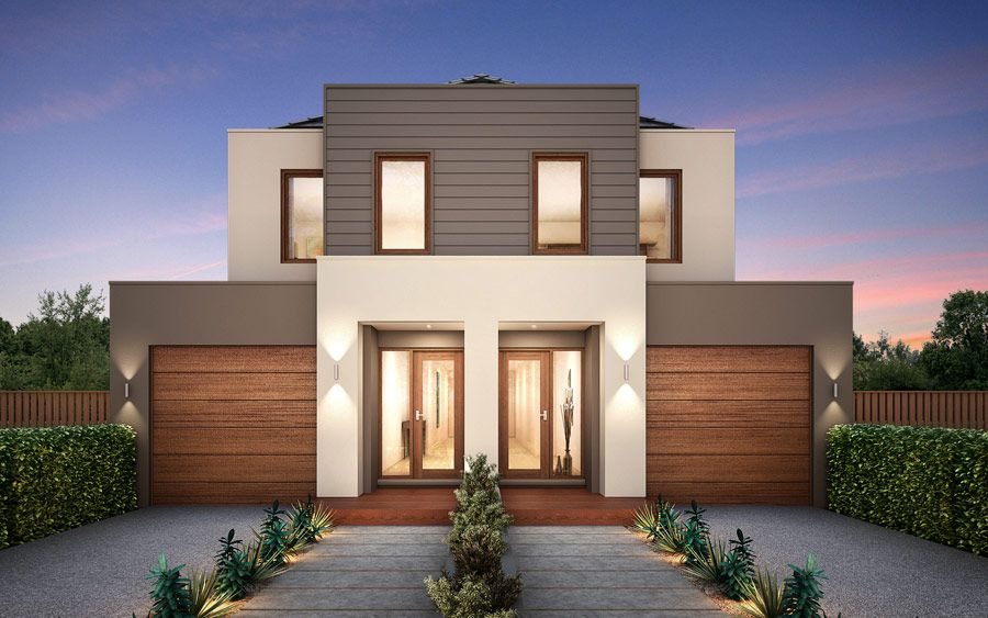 The Bayside Home Browse Customisation Options Metricon Duplex Designtownhouse
