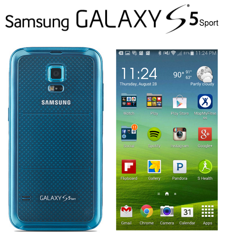 Samsung Galaxy S 5 Sport For Sprint, For The Active Parent