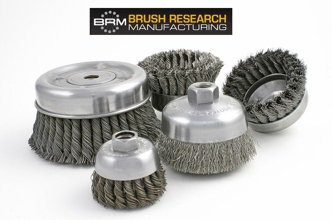 How much do you know about cup brushes? Which type of filament, wire or nylon abrasive, do you need? What's the difference between crimped and knotted brushing tools?  This week's blog entry explains. http://bit.ly/1kjnT2Z  #madeinamerica #madeinusa #madeintheusa #surfacefinishing
