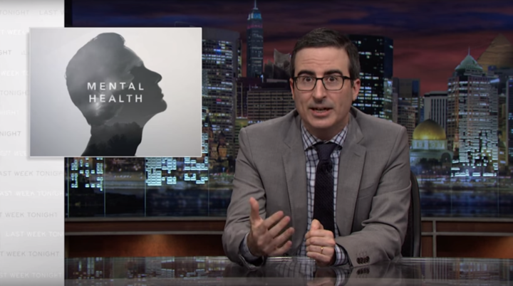John Oliver Breaks Down America's Problem With Gun Violence And Mental Illness