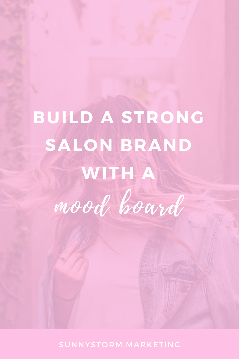 How To Make A Mood Board For Your Salon Brand For Free In Canva Salon Marketing Salon Promotions Beauty Bar Salon