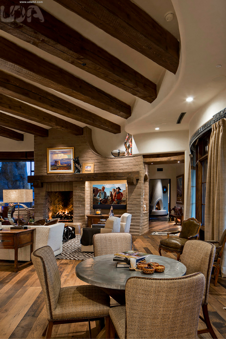 Lake House Two - Living Room - Contemporary - Dining Room