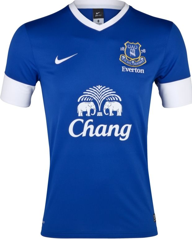 the best attitude 1a8e2 7c68d Everton Home Kit 2012-2013 | Football fasionistaville ...