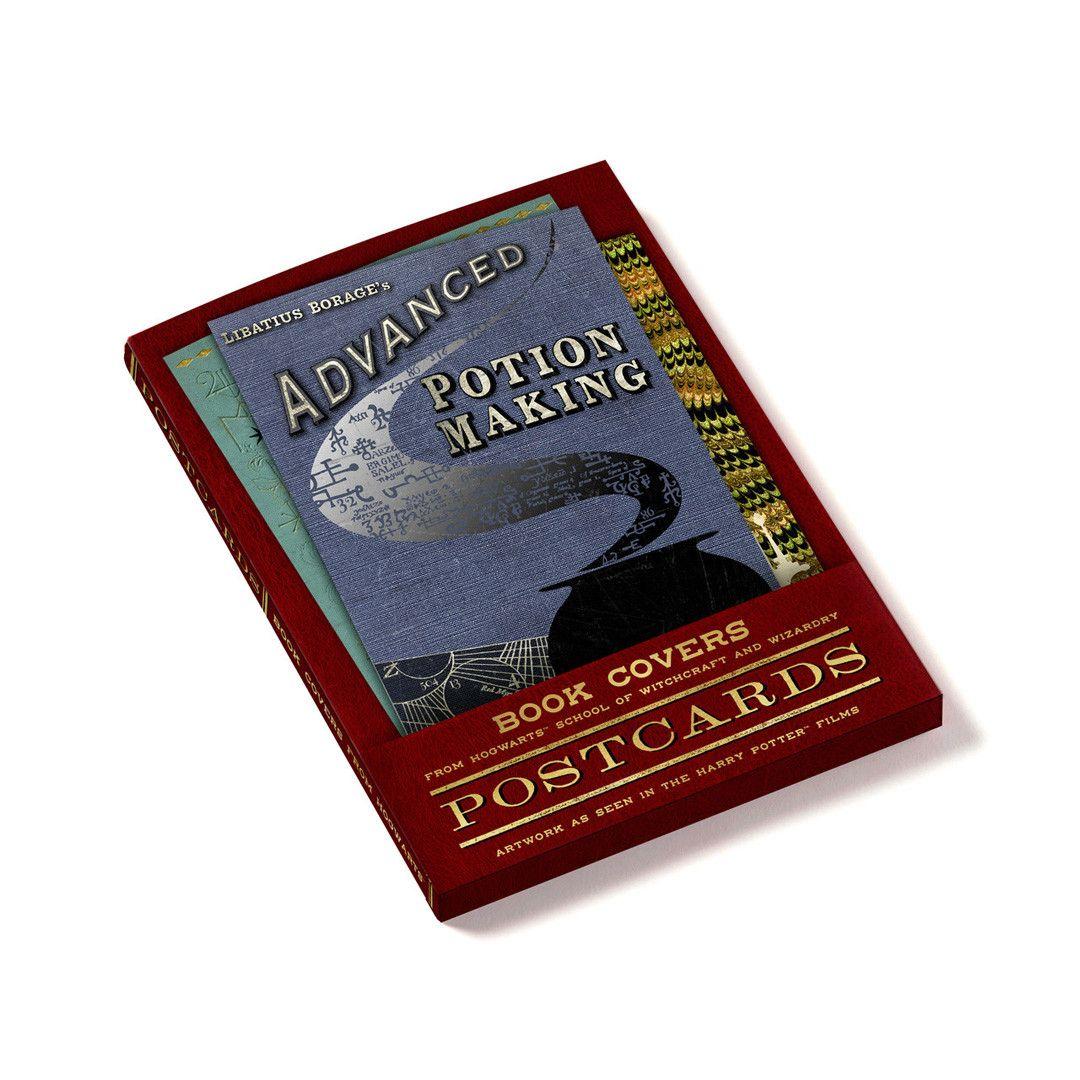 Lot de 20 cartes postales les couvertures de livres de Poudlard MinaLima - Harry Potter ...