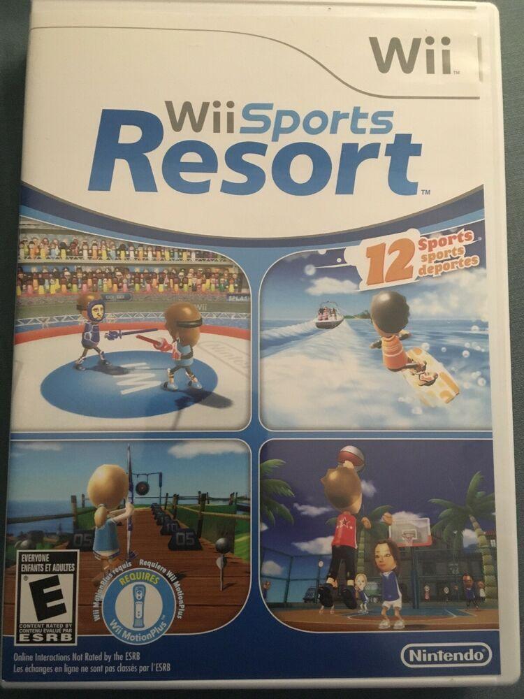 Wii Sports Resort (Nintendo Wii, 2009) nintendoswitch