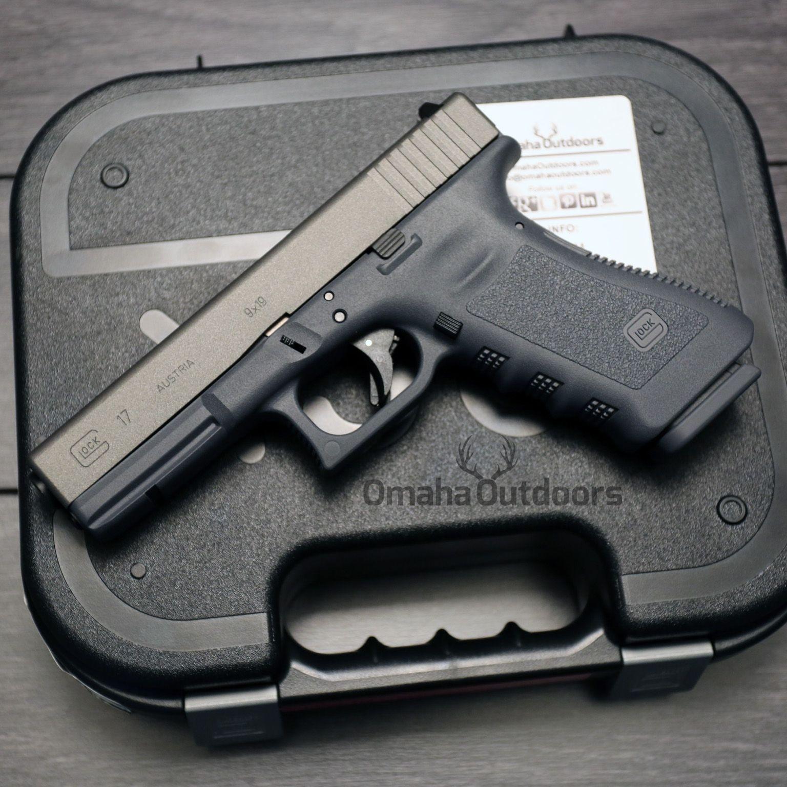 Glock 17 Gen 3 Sniper Grey Frame & Floorplate Tungsten Slide