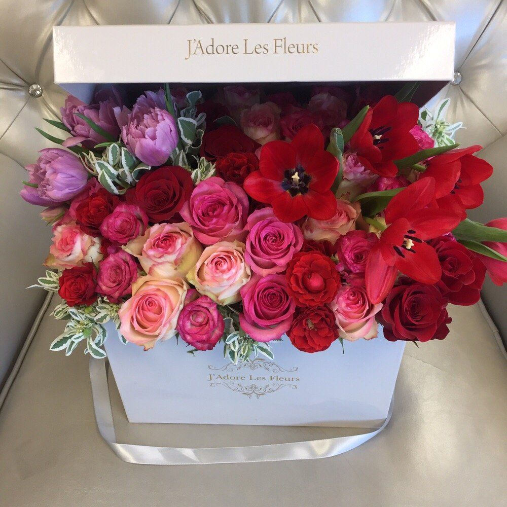 j 39 adore les fleurs bouquet roses elegant flowers hatbox flower flowers pinterest more. Black Bedroom Furniture Sets. Home Design Ideas