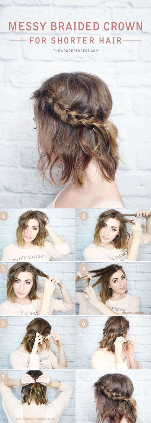 15 Cute Back To School Hairstyles For Short Hair | Hair | Pinterest ...