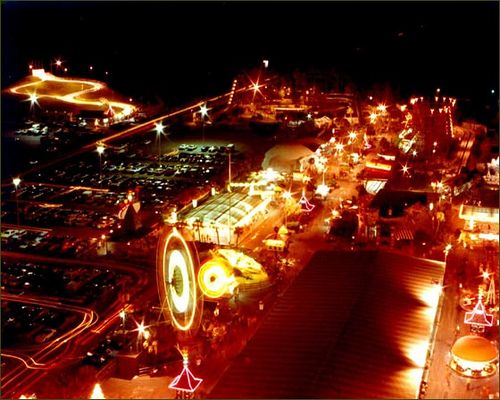 Miracle Strip Amut Park At Night In Its Full Glory Panama City Beach Florida 1970 S Flickr Photo Sharing