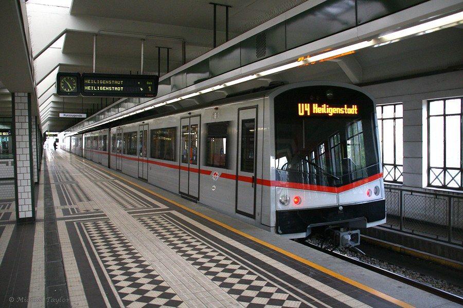 by Michael Taylor    Wien U-Bahn 3831 at Hütteldorf