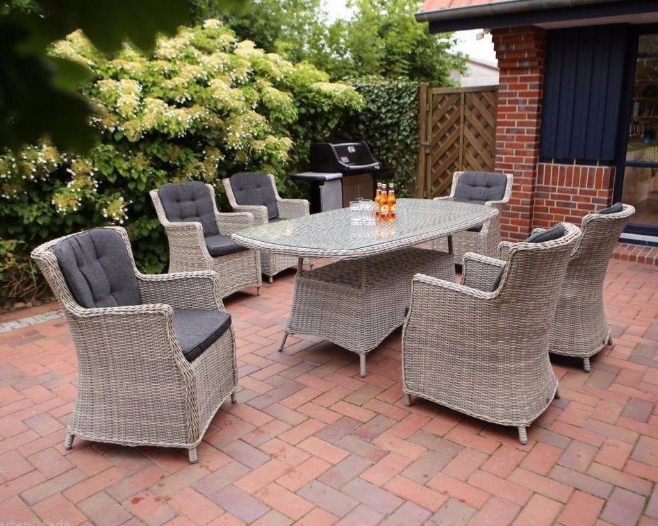Details zu Gartenmöbelset Destiny Sitzgruppe Luna Whitegrey ...