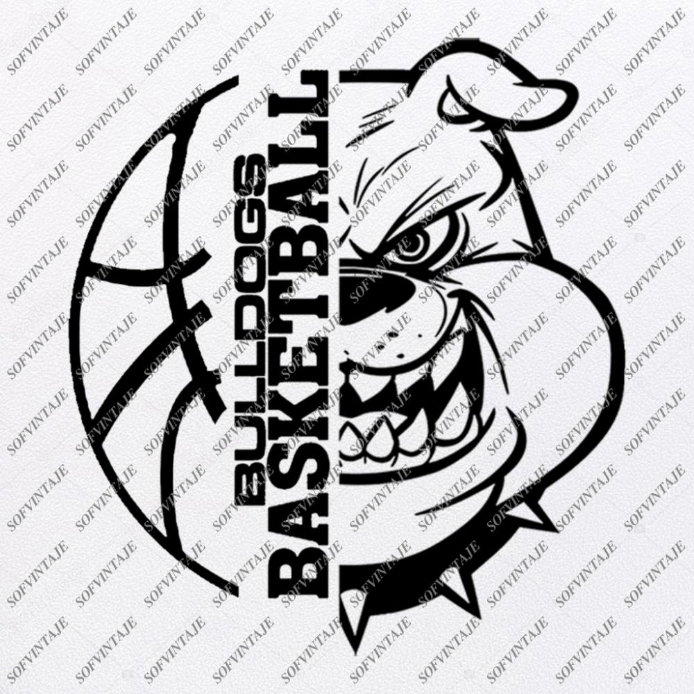 Bulldogs Basketball Svg Files Georgia Bulldogs Svg Football