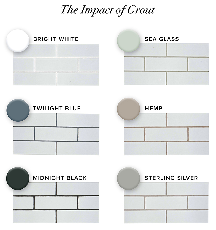 15+ Different color grout for accent tile trends