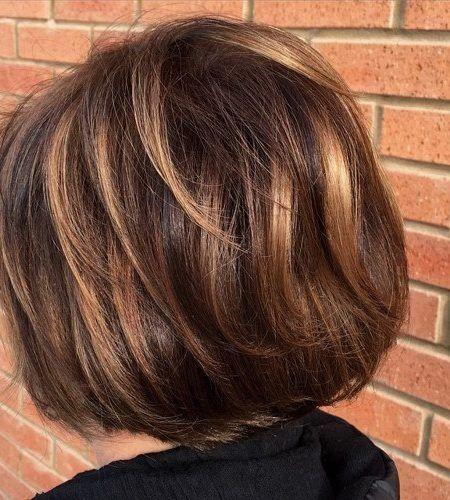 Dark Hair With Blonde Highlights 2017