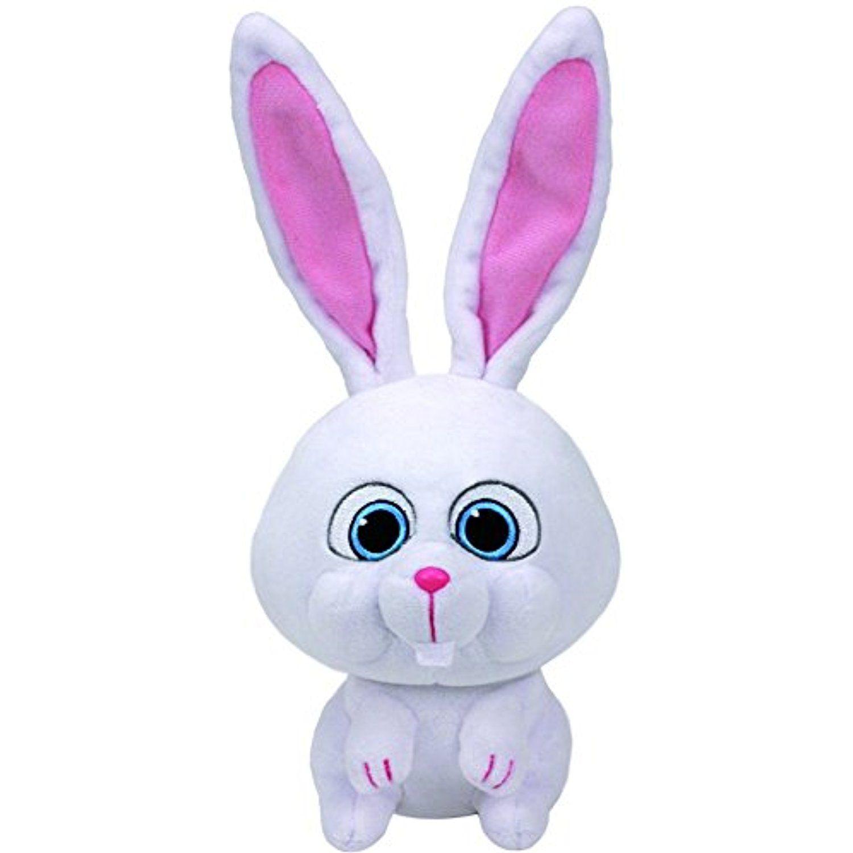 Ty Beanie Babies Secret Life Of Pets Snowball The Bunny Medium