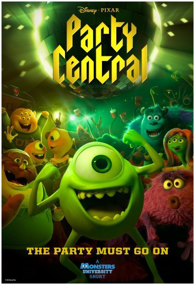 Póster #MonstersUniversity: #PartyCentral