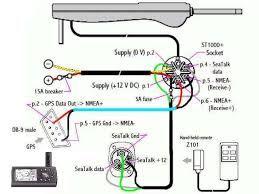 Resultado de imagem para raymarine st1000    wiring       diagram
