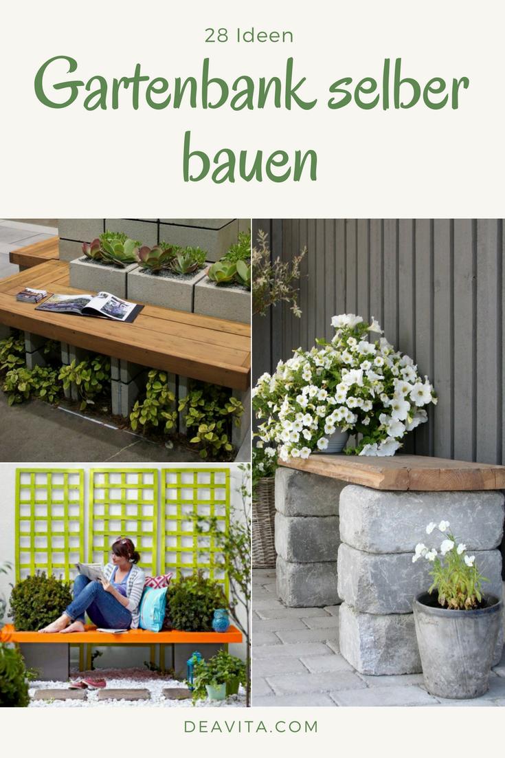 Wir Zeigen Ihnen 28 Ideen Wie Sie Eine Gartenbank Selber Bauen Konnen Sie Konnen Die Gartenbank Aus Alten Mobelstuc Gartenbank Selber Bauen Garten Gartenbank